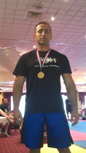Gold Medal, 2012 Illawarra Grappling Cup