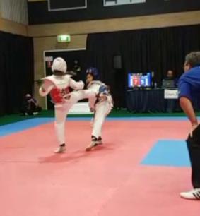 Taekwondo, Savannah Youssef